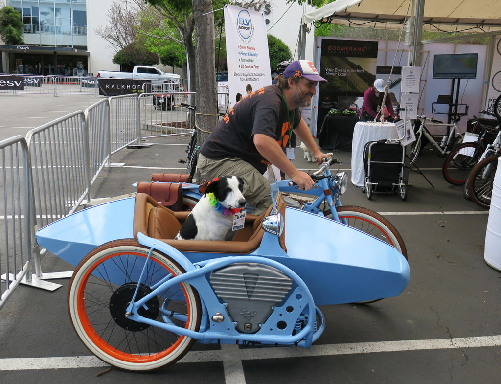 Vintage Electric's newest side car innovation